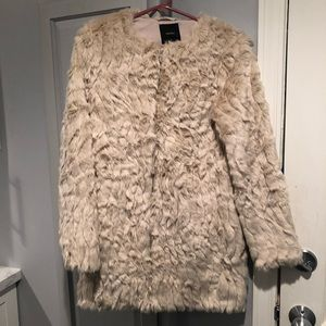 Forever 21 Faux Fur Coat Jacket